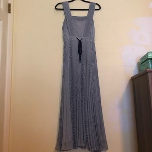 Anthropologie (NWT!)- Pleated Chiffon Maxi Dress